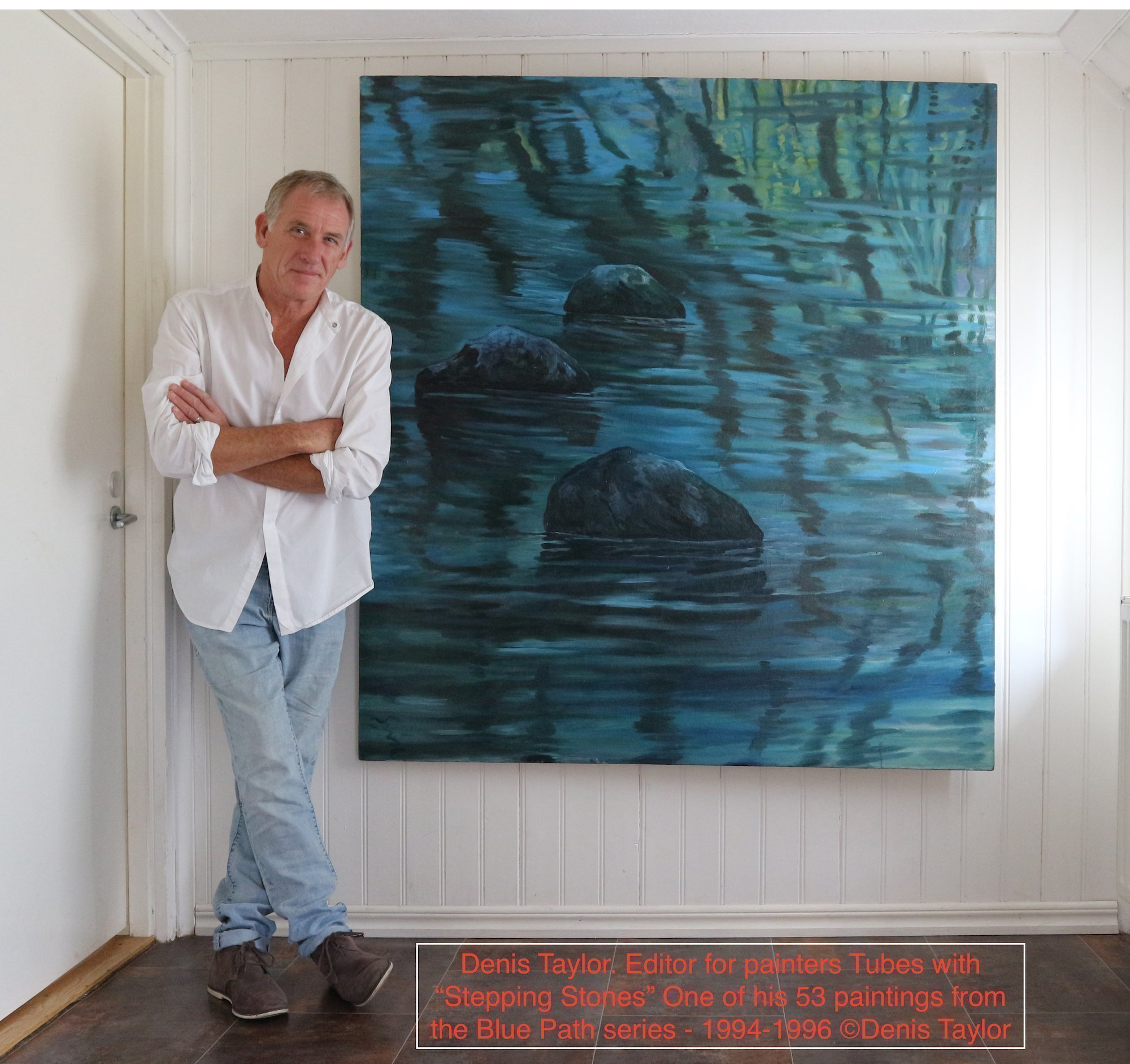 Denis Taylor artists and Editor of painters Tubes magazine