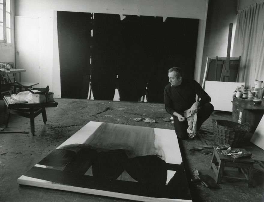 painters Tubes magazine article on Soulages