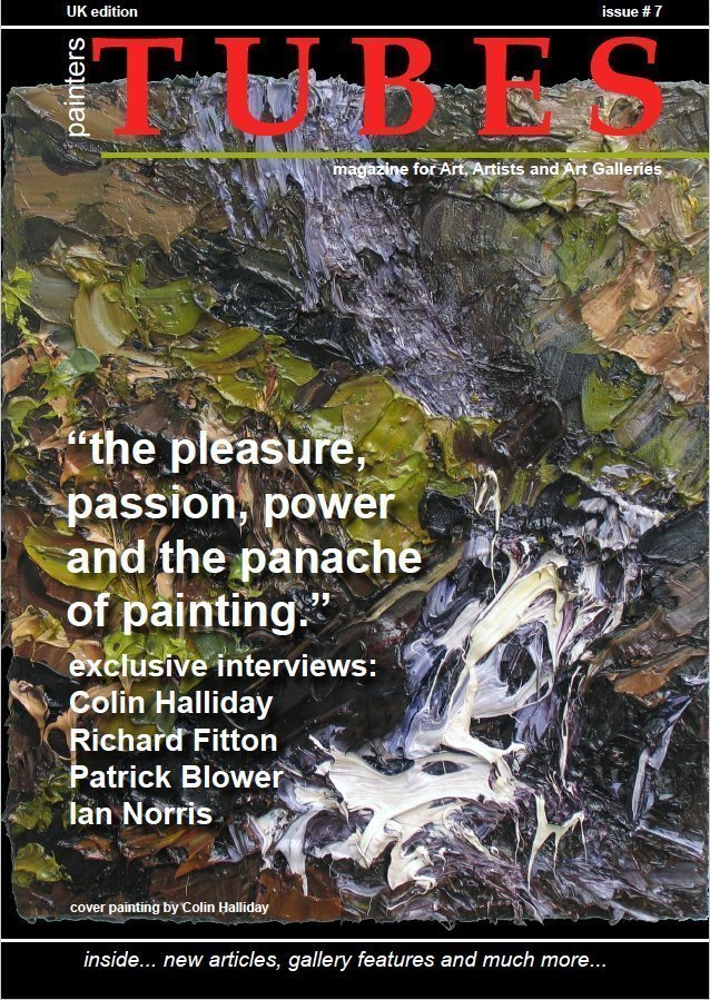 painters TUBES art magazine issue 7 oead only in painters TUBES magazine
