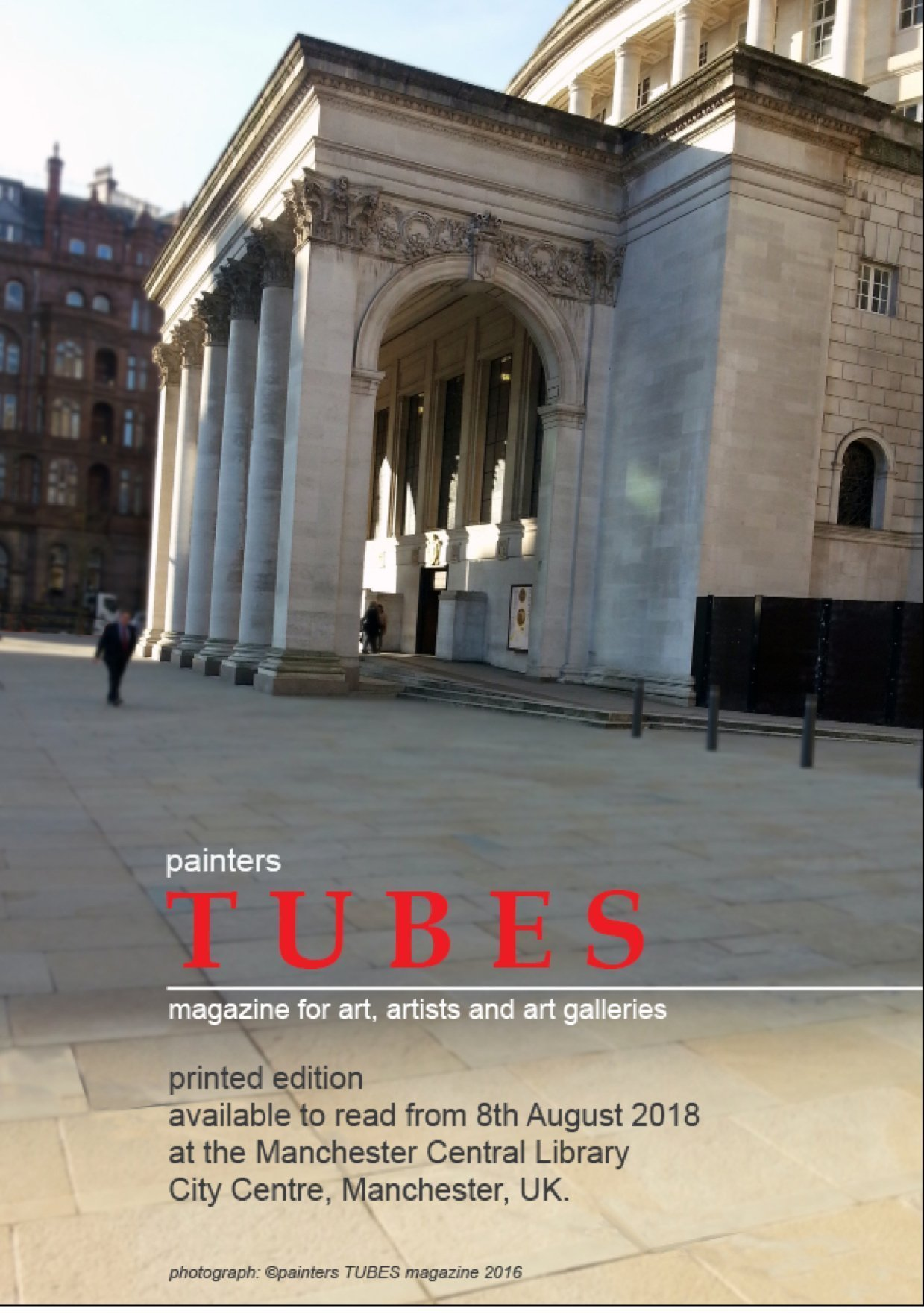 painters Tubes magazine at Manchester Central Library