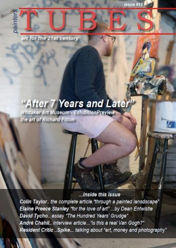 Richard Fitton Featured in painters TUBERS magazine issue 12