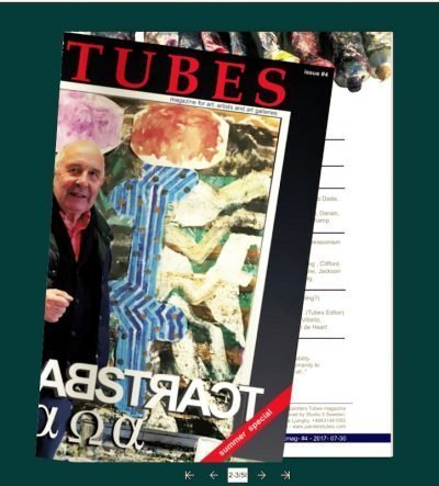 painters tubes magazine issue number four