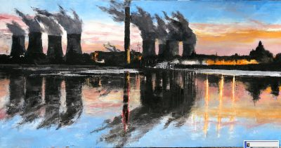 Painters TUBES Art Gallery sponsors the Fiddler Ferry New Art Project
