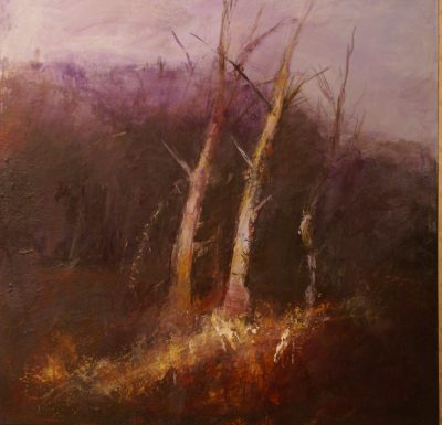 Landscape painting by Pauline Rignall