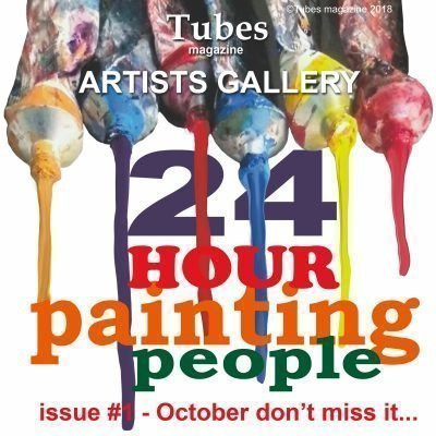 painters TUBES magazine t shirt now available on Fine Art America