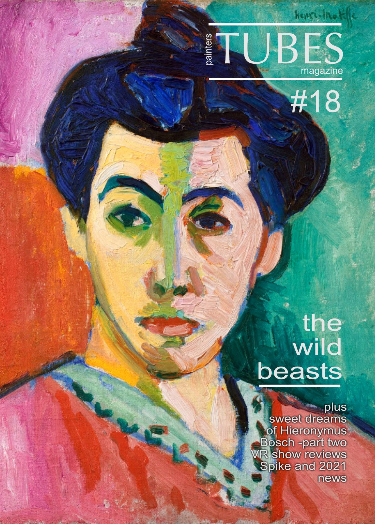 Painters TUBES new issue The Wild Beasts