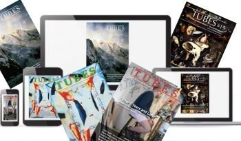 painters TUBES. Printed magazine and ONLINE