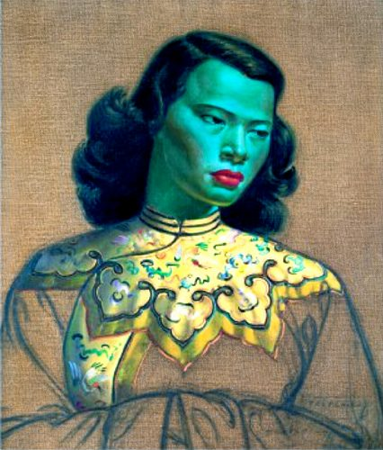 Chinese Girl - Trechikoff 1951