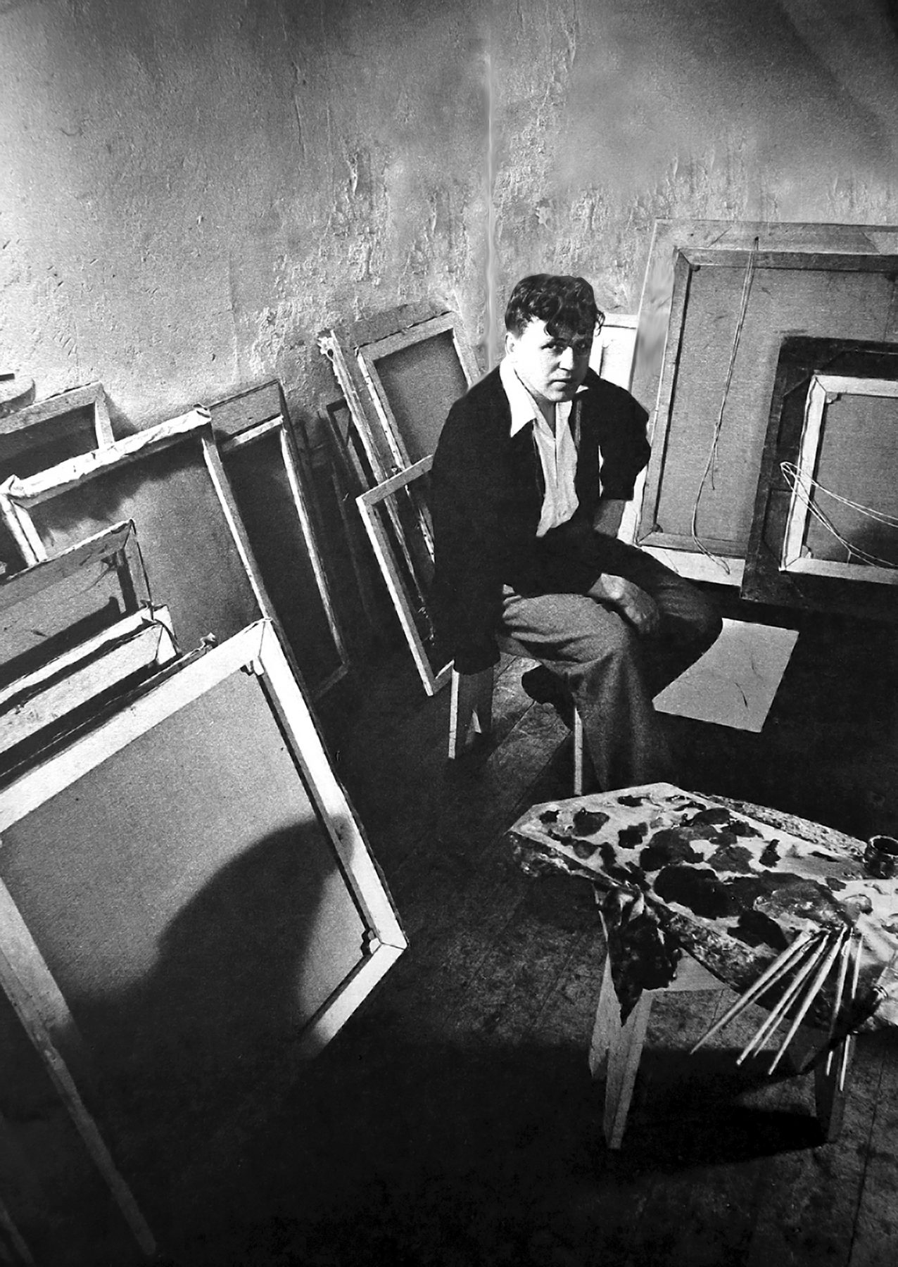 Tretchikoff in his studio in South Africa
