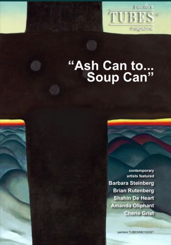 Get your Digital Copy here .painters TUBES - New article Ash Can to Soup Can