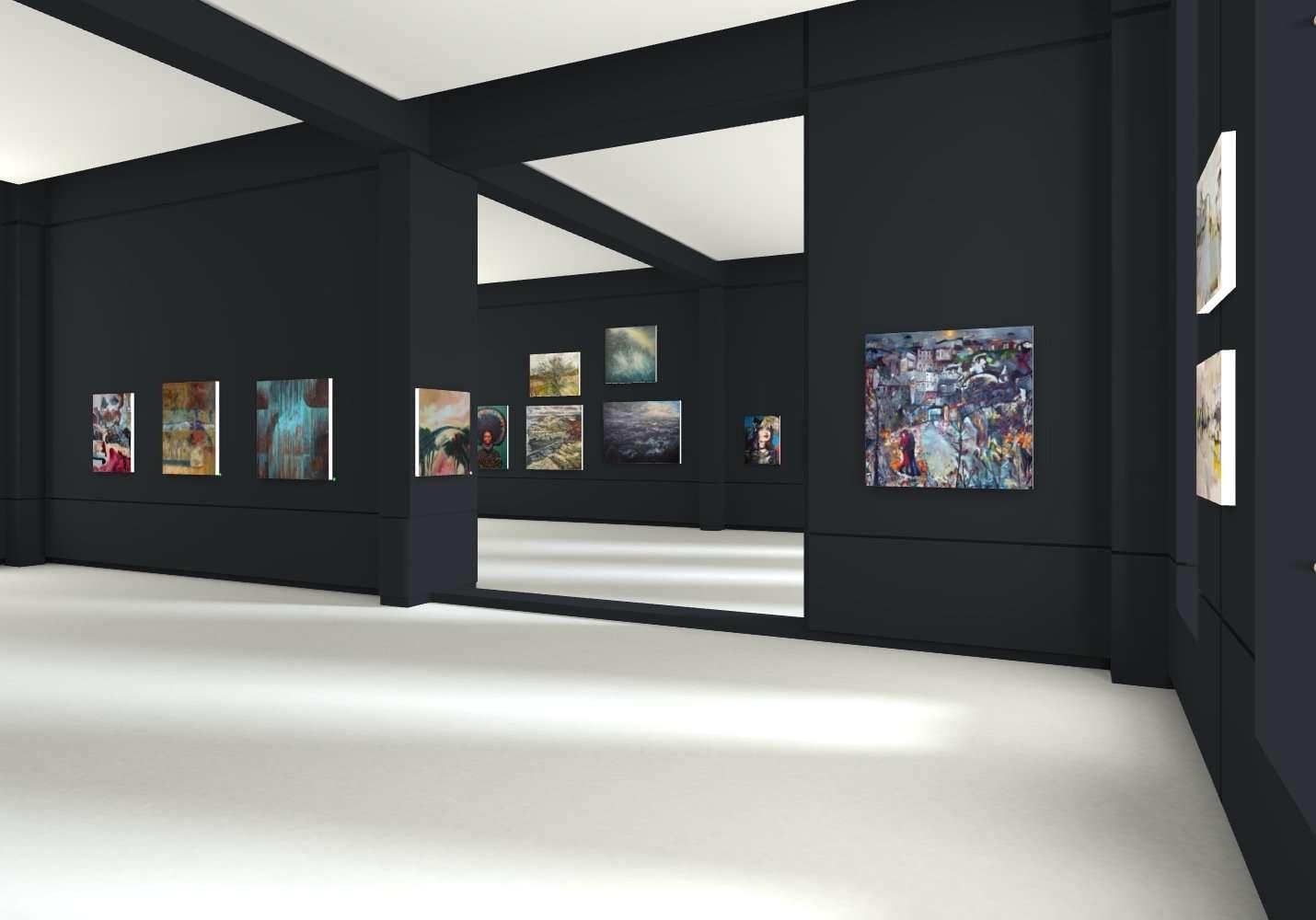 Deansgate exhibition view three