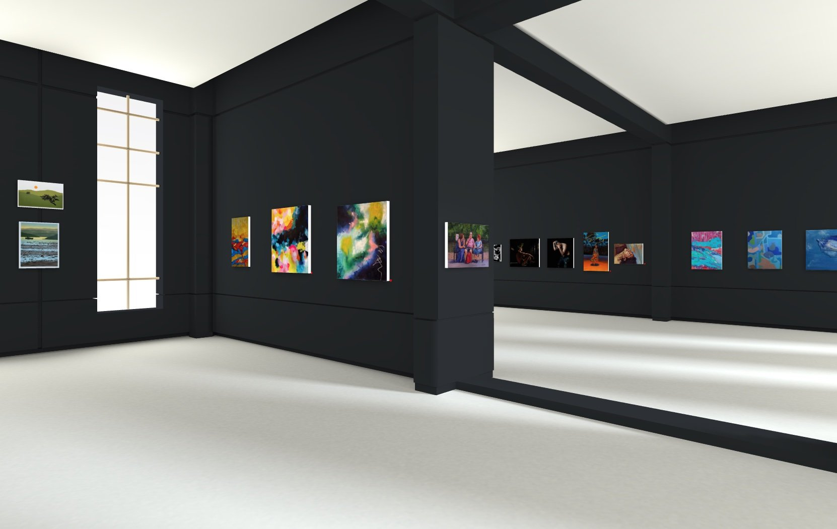 Quay Street Gallery exhibition view two