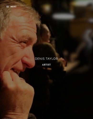 Denis Taylor Artist and Editor of painters TUBES magazine