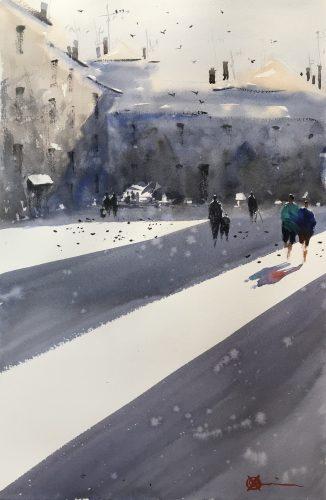 Claudia Araceli in Painters TUBES Gallery issue 4