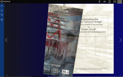 Artists Catalogues For Exhibition online and the high street