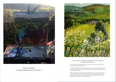 Carl Longmate featured in painters Tubes Artists Gallery