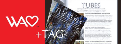 World Art Exhibitions and TUBES working in conjunction