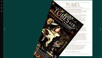 painters TUBES magazine inside story in 15