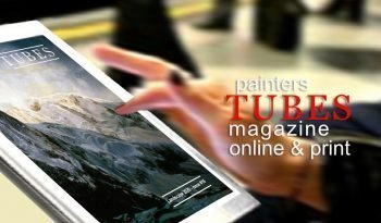 painters TUBES magazine new issue